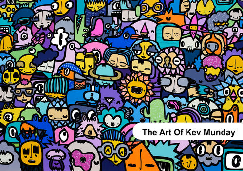 The Art Of Kev Munday Book