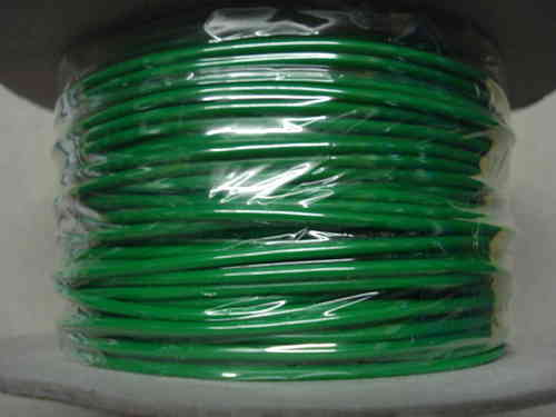 0.65mm² 5.75 Amp 9/0.30 PVC Light Green Cable 100m