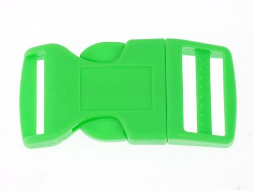 "1 x Green Curved Side Release Acetal Buckle - 19mm  20mm (3/4"")"