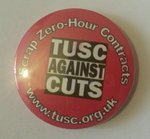 TUSC - Scrap Zero-Hour Contracts badge