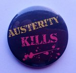 Austerity Kills badge