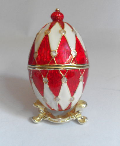 Decorative Harlequin egg