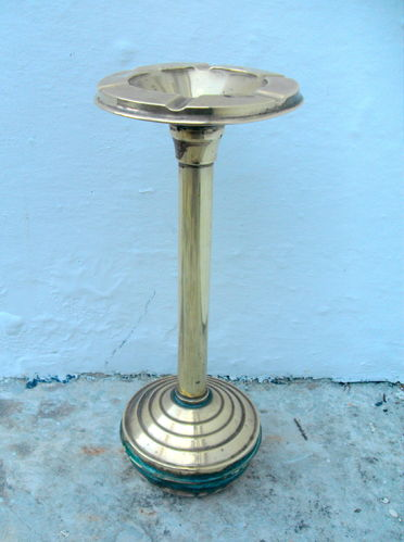 Art Deco ashtray stand