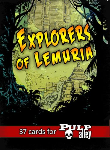 ***Pre-Order*** Released end of October 2017 Explorers of Lemuria Deck