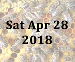 A Refresher Day Beekeeping Course with Jill and Mike - Sat 28th April 2018