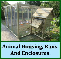 Animal Housing, Runs And Enclosures