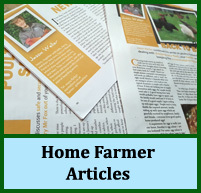 Home Farmer Magazine Articles