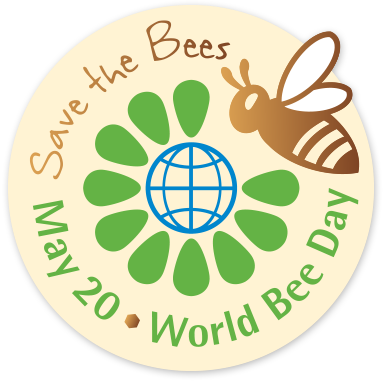 save the bees world bee day