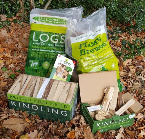 kiln dried logs and firewood