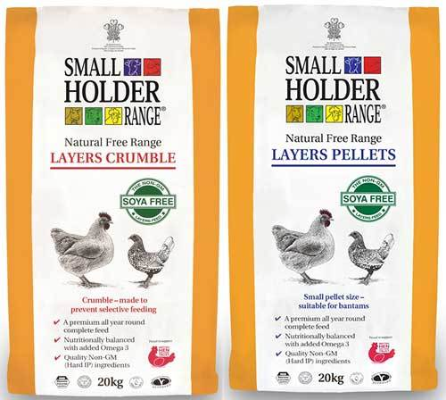 smallholder range layers pellets