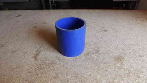 "2.5"" Blue silicone joiner  3"" long"