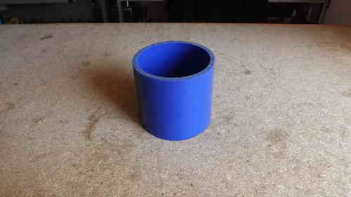"3"" Blue silicone joiner  3"" long"