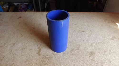 "2.5"" Blue silicone joiner  6"" long"