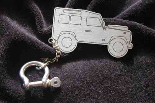 Land Rover Defender 90 Key Ring