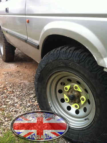 Checkpoint Wheel Nut Indicators