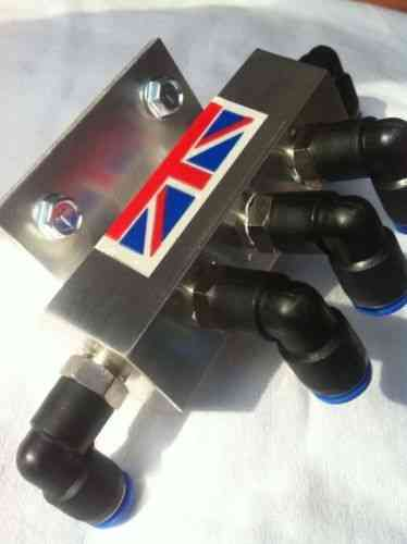 5 Way Breather Manifold for Axle and Gearbox Breather