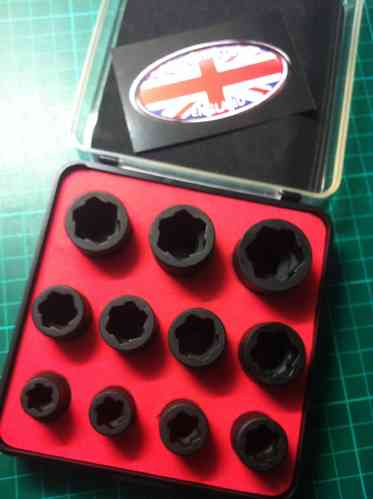 Anti Slip Socket Set.