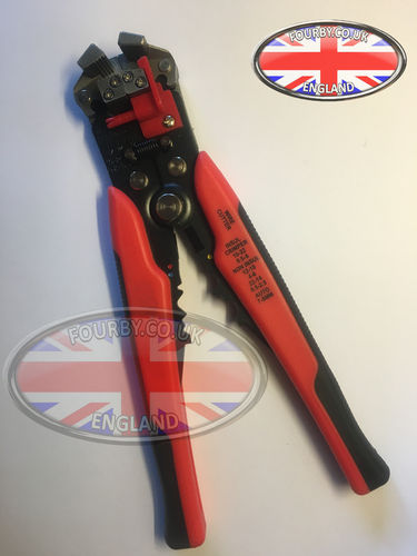 Automatic Wire Stripper and Crimper