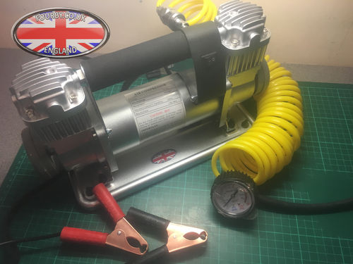 12v Twin Head Heavy Duty Compressor