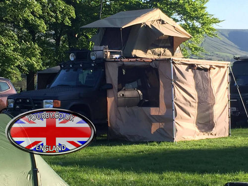 4x4 Land Rover Side Awning Ground Tent Combo