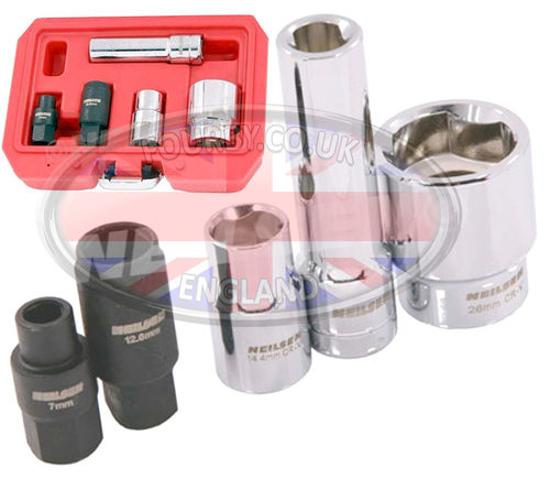 200/300tdi Bosch VE injection pump specialist socket set