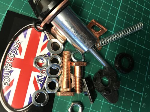 Land Rover TD5 Starter Motor Solenoid Overhaul Kit