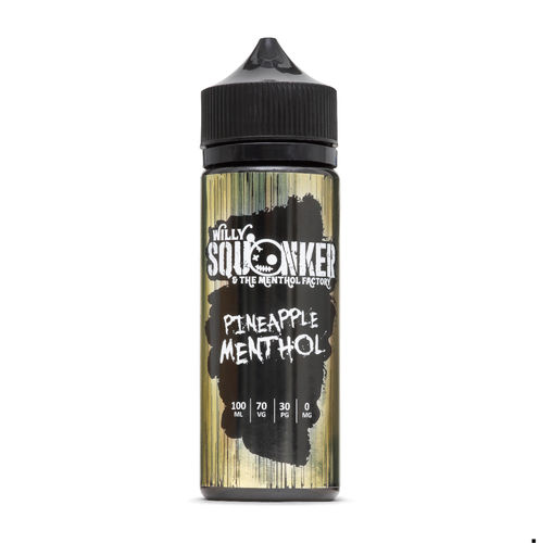 Pineapple Menthol 100ml - By Willy Squonker